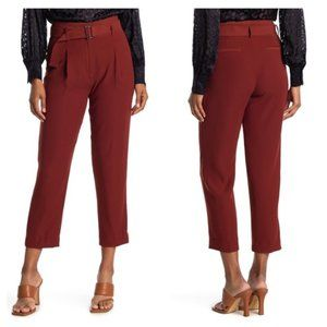 REISS Size 4 Casey High rise Pleated Front Pants